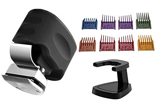 Skull Shaver Beast Clipper Cortapelo Eléctrico para Hombres Afeitadora para Pelo, Barba y Bigote Kit con 8 Peines-guía Intercambiables