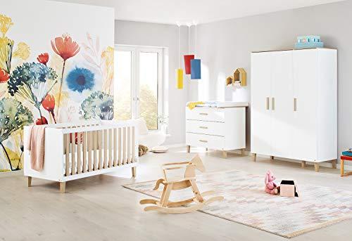 Pinolino 100032BG Lumi - Habitación infantil (ancho, 1 unidad), color blanco