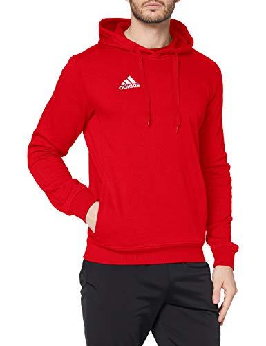 adidas Tiro17 Hoody Sudadera, Hombre, Rojo (Escarl/Blanco), L