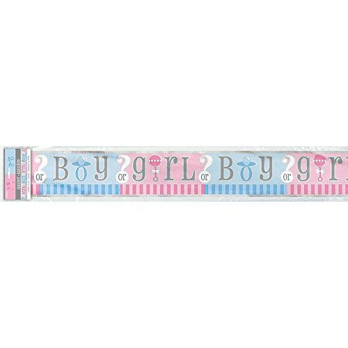 Unique Party 47398LF Bannière de fête prénatale pour enfant 3,7 m