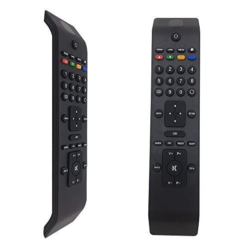 FOXRMT Mando RC3902 para Mando TV Oki/HITACHI/Sharp L46VN05U LC22D12E LC22LE22E LC32D12E LC40F22E- No Requiere configuración