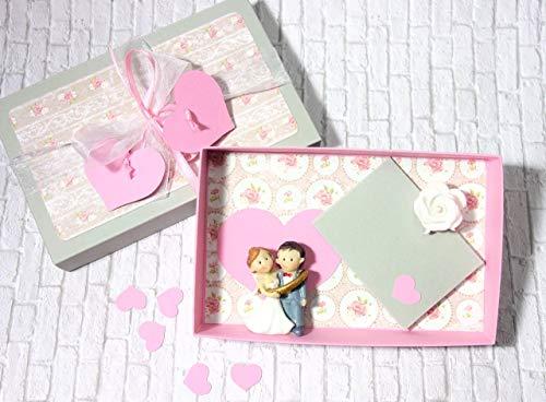 Geldgeschenk Hochzeit Geschenkschachtel Hochzeitsgeschenk Vintagestil