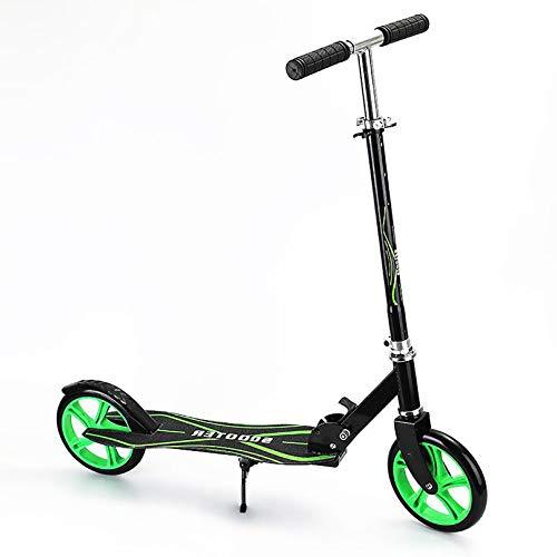 LIYANJJ Patinete Deslizante, Sistema de Plegado de liberación rápida, una Bicicleta de Equilibrio, Ajuste de Altura Flexible, Barra en T, Manillar para niños y niñas, Carga máxima de 220 Libras
