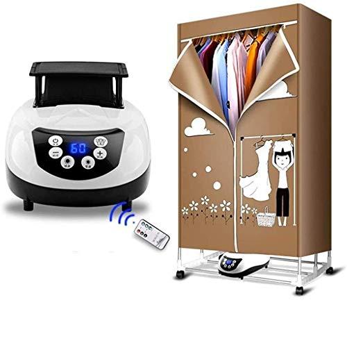 Percha Secadora de ropa Sky Secadora de ropa, Rack de secado eléctrico 1200W Armario de secado eléctrico con deshumidificación / desodorización / Secado rápido / Tiempo inteligente, Calefacción de cic