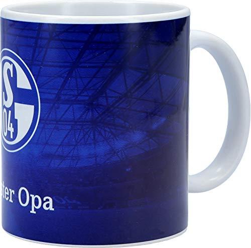 FC Schalke 04 Kaffeetasse Bester Opa Unisex - Erwachsene Mehrfarbig