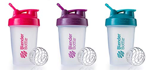 Blender Bottle 20oz Sundesa (3) (Pink|Plum|Teal)