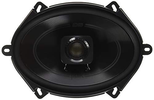 "Polk Audio DB572 DB+ Series 5""x7"" Coaxial Speakers with Marine Certification, Black"