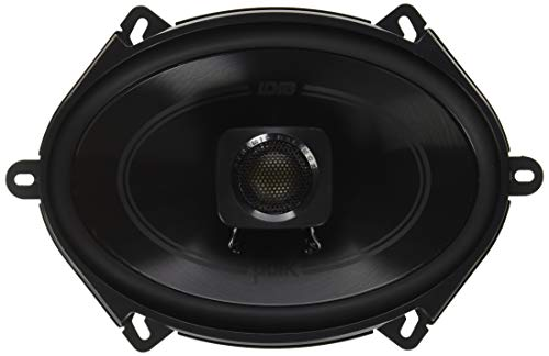 Polk Audio DB572 DB+ Series 5'x7' Coaxial Speakers with Marine Certification, Black