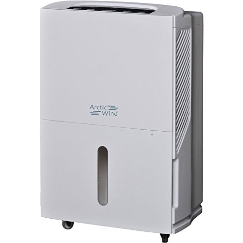 ARCTIC Wind AH5011 50 Pt. Dehumidifier, Pint, White