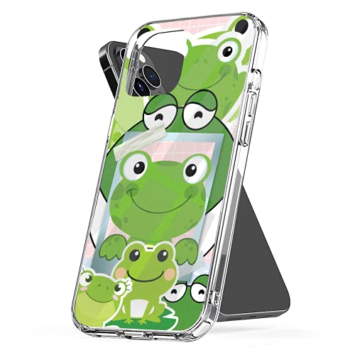 Phone Case Compatible with iPhone 11 Se Xr 6 X 7 2020 8 12 Small 6s Frog Plus Collage Xs Pro Max Mini Jumbo Collage Combine Photo Mixed Media