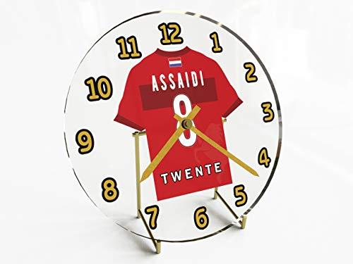 Holland Eredivisie–Niederlande Fußball Shirt Desktop Uhren–Jeder Name, beliebige, jedes Team, kostenlose Personalisierung. FC Twente