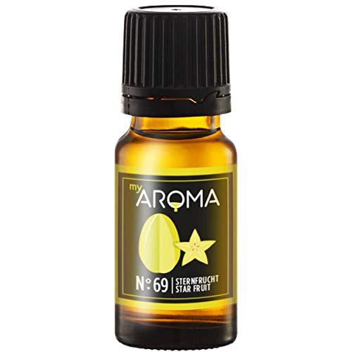 myAROMA | No. 69 (Sternfrucht, 10 ml) | Rein natürliches Aroma | Geschmackstropfen zum Kochen, Backen & Mixen | Zuckerfrei & ohne Süßung