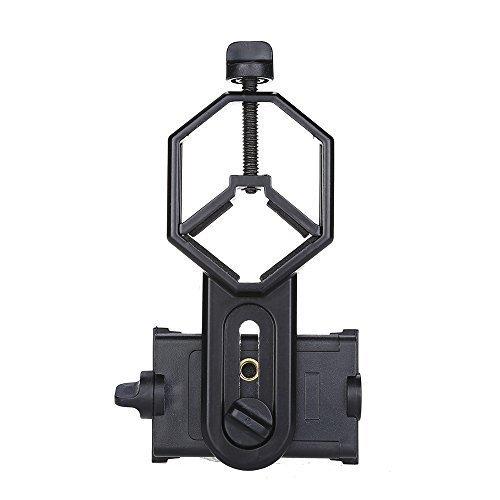 BOBLOV CM-4 Soporte de Teléfono Móvil, Adaptador con Diámetro de 25-48mm para Prismáticos  Monocular  Telescopio  Microscopio  Móviles Inteligentes de Samsung  iphone  Huawei, etc.