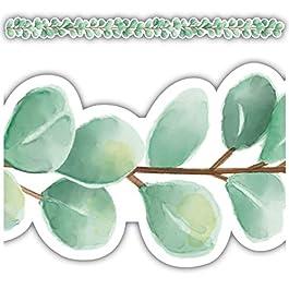 Eucalyptus Die-Cut Border Trim