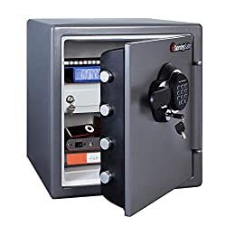 🥇10 Best Waterproof And Fireproof Safe For Home and Office 1