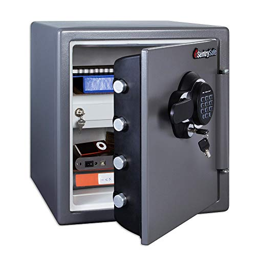 SentrySafe SFW123GDC Fireproof Safe and...
