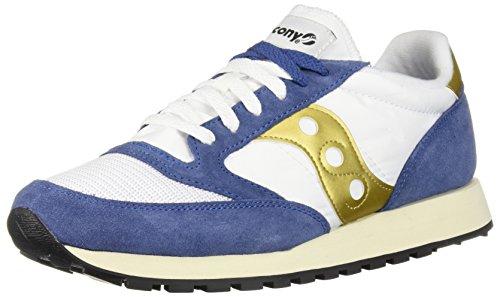 Saucony Jazz Original Vintage, Sneakers Uomo, White Navy 12, 40 EU