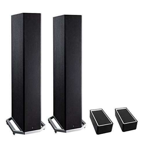 Discover Bargain Definitive Technology BP9020 High Power Bipolar Tower Speaker with Integrated 8 Su...