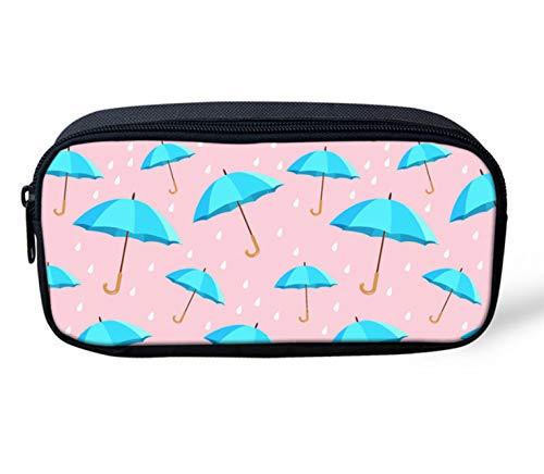 Schooltas creatieve adreset schooltassen voor kinderen meisjes roze paraplu print kleuterschool casual vrouwen rugzak B