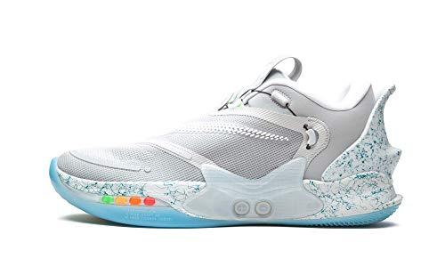 Nike Adapt Bb 2.0 Uomini Pallacanestro ShoeBq5397-003, grigio (Lupo grigio/bianco.), 44 EU