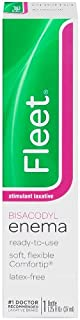 Fleet Stimulated Laxative Bisacodyl Enema | 1.25 oz | Fast Constipation Relief in Minutes
