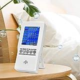 InLoveArts Moniteur de Qualité de l'air co2 PM2.5 PM10 Formaldéhyde(HCHO) TVOC CO2 Détecteur d'air Multifonctionnel pour Intérieur, Bureau