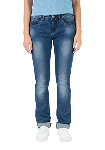 Timezone Damen Tahila Womenshape Slim Jeans, Blau (Bright Blue Wash 3151), W25/L32