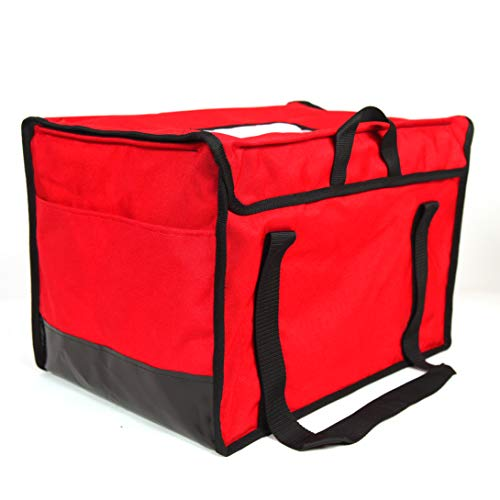 """RediHEAT HP138 Heated Food Delivery System, Regular Bag, 20"""" Length x 13"""" Width x 13"""" Height, Red"""