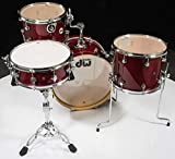 DW DDLG2004CS DESIGN SERIES FREQUENT FLYER 4 PIECE SHELL PK CHERRY STAIN