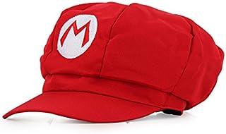Super Mario Gorra - Disfraz de Adulto y Niños Carnaval y