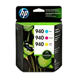 HP 940 | 3 Ink Cartridges | Cyan, Magenta, Yellow | C4903AN, C4904AN, C4905AN