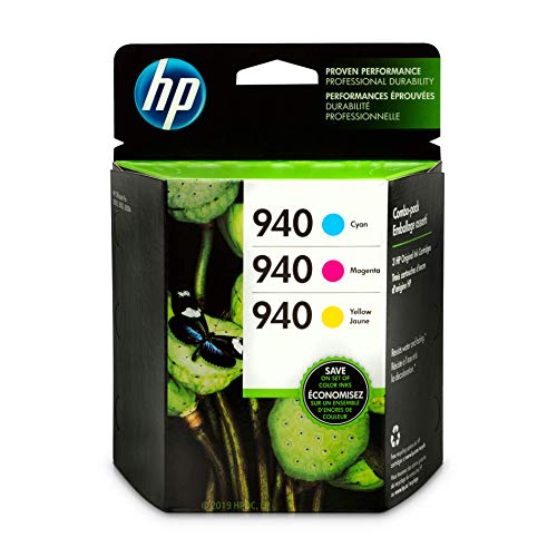 HP 940Cyan, Magenta & Gelb Original Tintenpatronen, 3Pack (cn065fn)