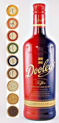 Dooleys Toffee Likör + 9 Edel Schokoladen in 9 Geschmacksvariationen
