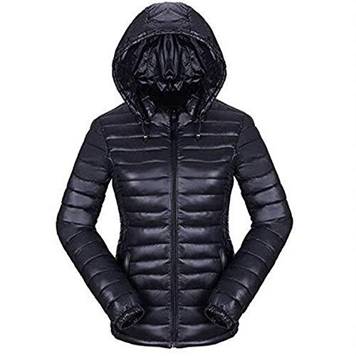 Newbestyle Femme Hiver Doudoune Ultra Légère Veste Manteau à Capuche Chaud Courte Zippée Parka Blouson