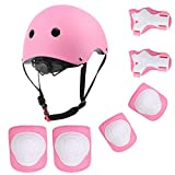 YIVAR Kids Adjustable Helmet Pad Set Suitable for Ages 3-10yrs Girls Boys Toddler,Sport Protective Gear Set...