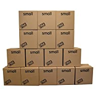 StorePAK Small Storage Boxes - Archive Cardboard Boxes with Handles - 100% Recyclable, 31 litres - H...