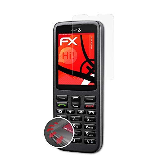 atFolix Schutzfolie kompatibel mit Doro 5516 Folie, entspiegelnde & Flexible FX Bildschirmschutzfolie (3X)