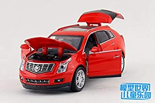 Greensun 1:32 Scale/DieCast Model/Cadillac SRX SUV Sport Car/Lighting & Music/Educational Toy for Children's Gift or Collection