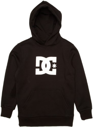 DC Shoes Jungen Fleecejacke Star Ph by Baby Pullover, Black, L