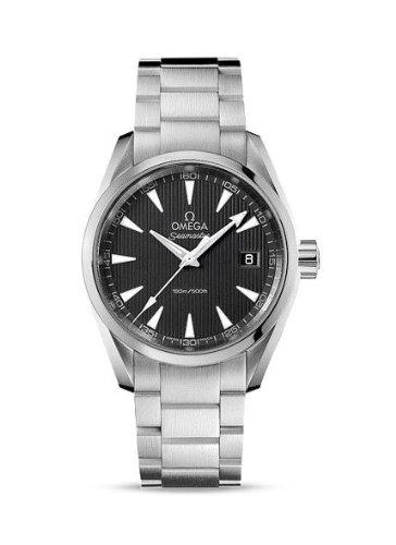 Omega, orologio da uomo con cinturino e cassa 38 mm in acciaio,...