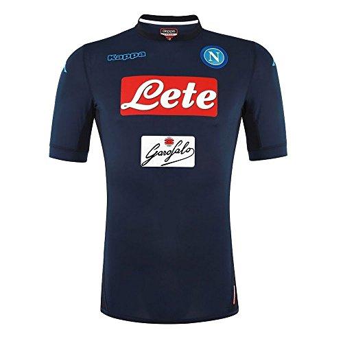 Kappa 2017-2018 Napoli Authentic Third Football Soccer T-Shirt Trikot