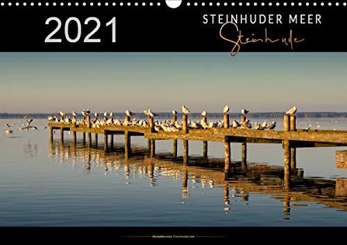 Steinhuder Meer - Steinhude (Wandkalender 2021 DIN A3 quer)