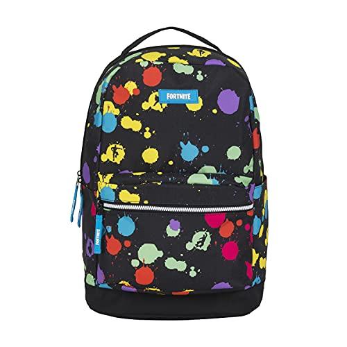FORTNITE Kids' Big Multiplier Backpack, Black/Multi, One Size