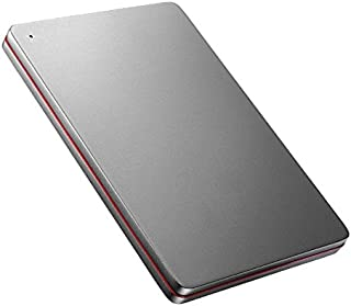I-O DATA 外付けHDD ハードディスク 1TB ポータブル カクうす アルミボディ 超薄型 日本製 HDPX-UTS1K