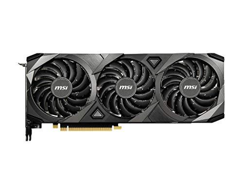 MSI GeForce RTX™ 3080 Ventus Grafikkarte, 3 x 10 G, 10 GB, GDDR6X, Ampere, 1755 MHz, 8704 Cuda Cores, 320 bit, G-Sync, VR Ready, DirectX 12, HDMI 2.1, DisplayPort 1.4a, DLSS