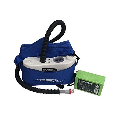 Sport Vibrations® Edition turbinepomp loodbatterij - SUP elektrische pomp - 2016