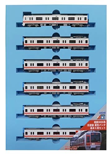 マイクロエース Nゲージ 相鉄9000系 旧塗装 菱形パンタ 基本6両セット A6240 鉄道模型 電車