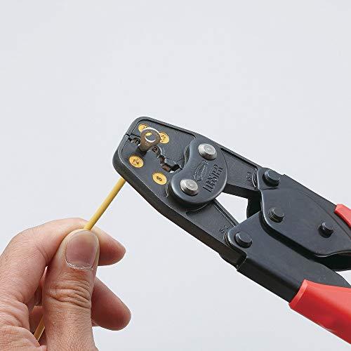 ロブテックス エビ 裸圧着端子用圧着工具使用範囲1.25 2 5.5 8 AK15A_1065