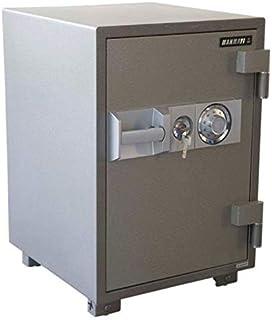 خزانة ماهيامي سيكيور 680 مقاومة للحرائق بقرص للفتح ومفاتيح زنة 100 كجم