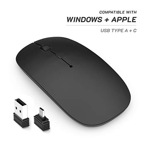 petit un compact Oakcastle CM100W – Souris sans fil pour ordinateurs portables et de bureau, souris d'ordinateur…
